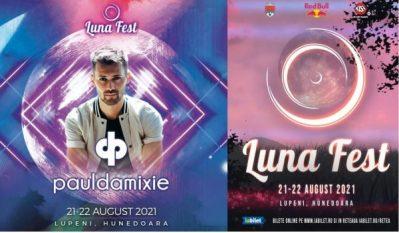 "Paul Damixie aduce hit-ul mondial ""Lonely Heart"" la Luna Fest Lupeni 2021"