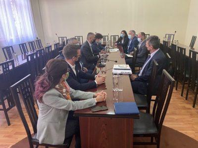 Sesiune de discuții la Universitatea din Petroșani pe marginea constituirii Asociației pentru Dezvoltare Integrată a Văii Jiului