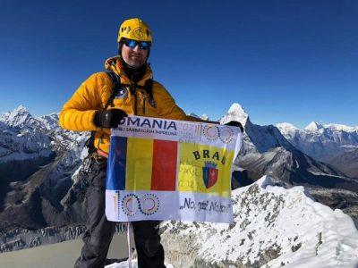 Un polițist brădean cucerește Himalaya