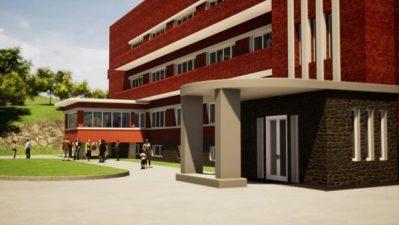 Lucrări de extindere la clădirea veche a Spitalului Municipal Lupeni