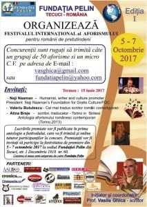 Festival Aforism Tecuci