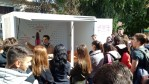 Lansarea primei caravane de prevenire HIV din România adresată tinerilor