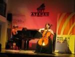 Interpretări magice la violoncel și pian pe scena Ateneului din Tecuci