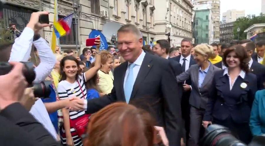 Klaus Iohannis şi-a depus candidatura pentru al doilea mandat – Video