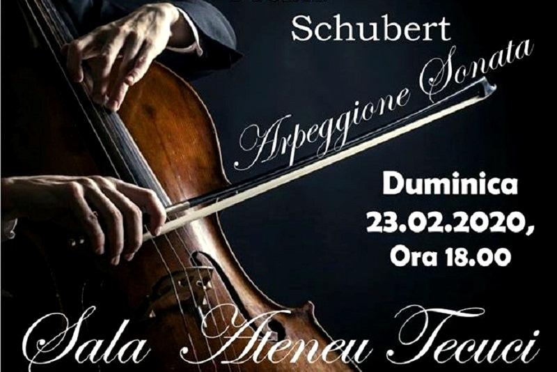 Schubert pe scena Ateneu