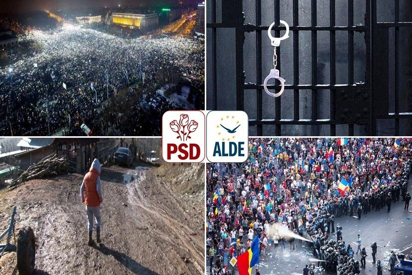 Apel la memorie: Ce a însemnat majoritatea toxică PSD – ALDE