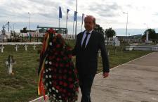 Primarul Alexandriei, Victor Drăgușin, a adus un omagiu eroilor neamului