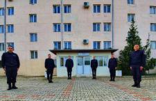 Șase elevi aflați în practică la Inspectoratul de Jandarmi au depus jurământul
