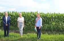 Ministrul Fondurilor Europene Marcel Boloș și vicepremierul Raluca Turcan au vizitat amplasamentul conductei de gaze din Suhaia