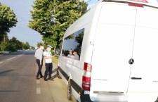 Mijloacele de transport persoane, verificate de oamenii legii