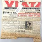 ditorial Mihai Antonescu, fratele lui Ion Antonescu, in ziarul Viata, 1941, format 30×30 – Kopi