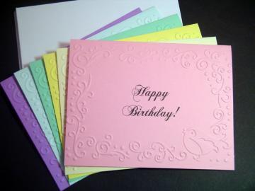 Birthday Card Sets