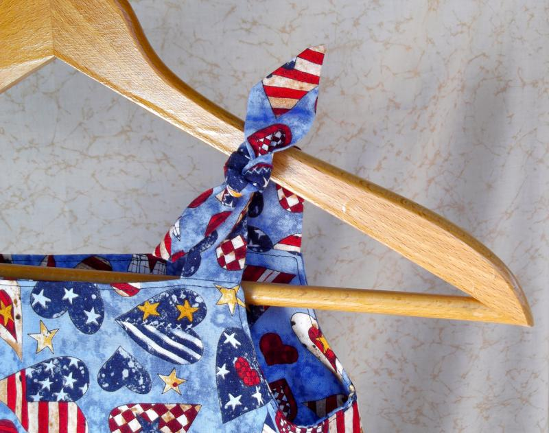 Patriotic Hearts Jumper or Sundress