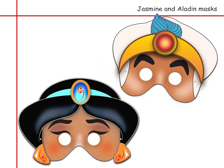 Unique 2 Jasmine And Aladin Printable