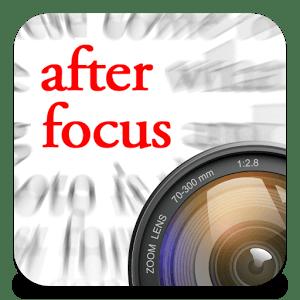 写真の背景をぼかすには「After Focus」がおすすめ