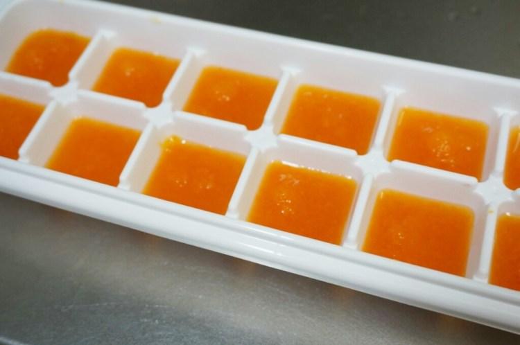 離乳食 冷凍 ニンジン