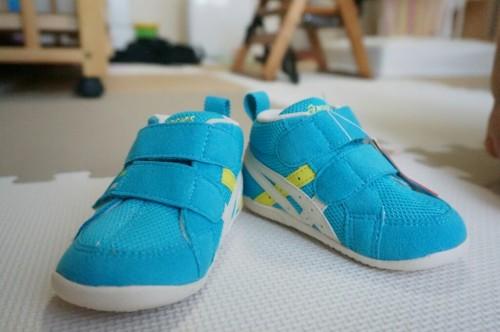 子供が片足の靴を無くしていました。そんな時にも子供の成長を実感。