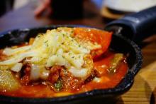 camp express アスパラとトマトのチーズカレー