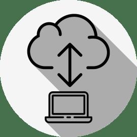 クラウドサービスのオンラインストレージを使うときの注意。