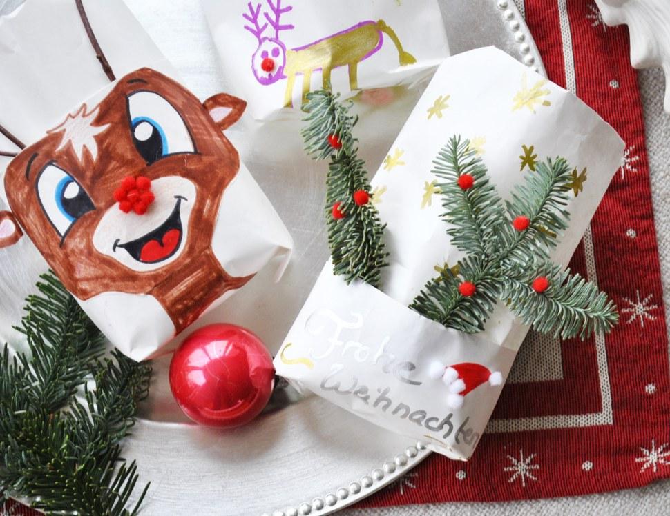 Diy Tischdeko Zu Weihnachten Windlichter Aus Brottuten Bunter