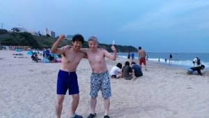裸(小菅&佐藤)