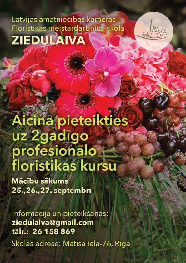 Divgadīgie floristikas kursi