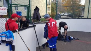 Hokejbal BHBL Ziegelfeld vs Greenhorns
