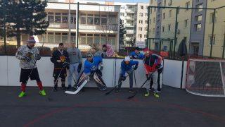 Hokejbal BHBL Ziegelfeld trening