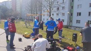 Hokejbal - SAV Lamac vs Ziegelfeld