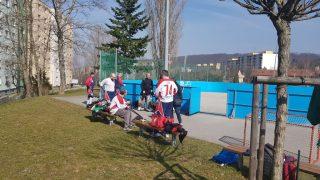 Hokejbal sav Lamač vs Ziegelfeld