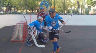 Hokejbal - Ziegelfeld vs SHBC Rebels