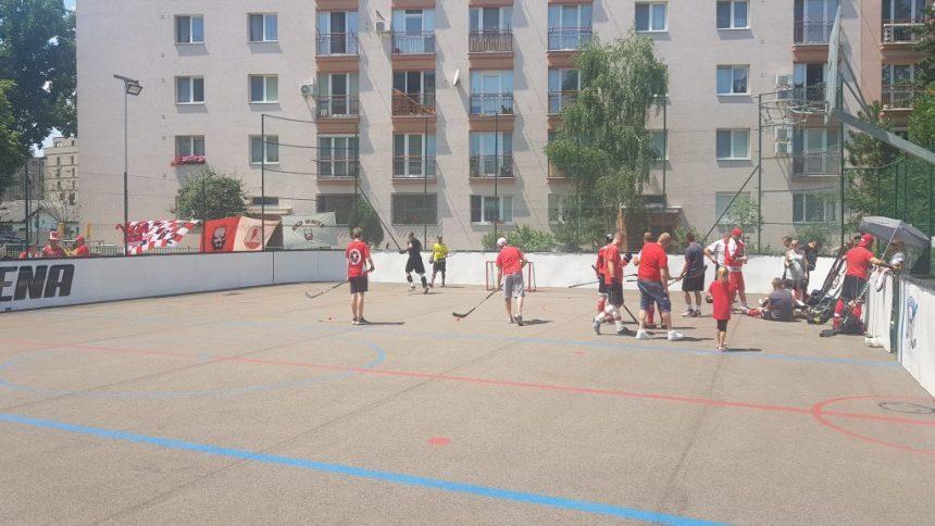 Hokejbal Finále BHBL : Ziegelfeld vs Hancop Dolné hony