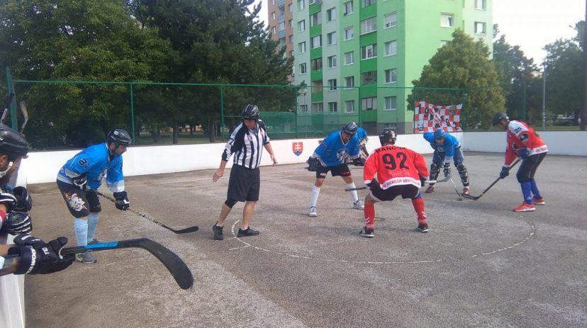 Hokejbal BHBL : Hancop Dolne hony vs Ziegelfeld