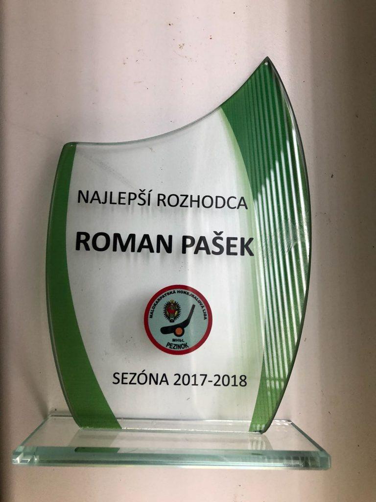 Roman Pašek - MALOKARPATSKÁ HOKEJBALOVÁ LIGA