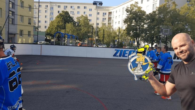 BHBL - Hokejbalový zápas Ziegelfeld vs Slávia Právnik