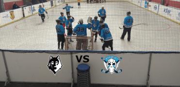 BHBL - Hokejbalový zápas Vlci Karlova Ves vs Ziegelfeld