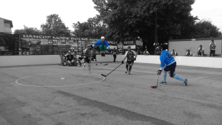 Hokejbal - Hancop Dolné hony vs Ziegelfeld