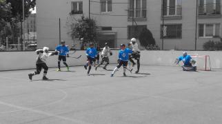 Hokejbal - Ziegelfeld vs AHK Peknikova