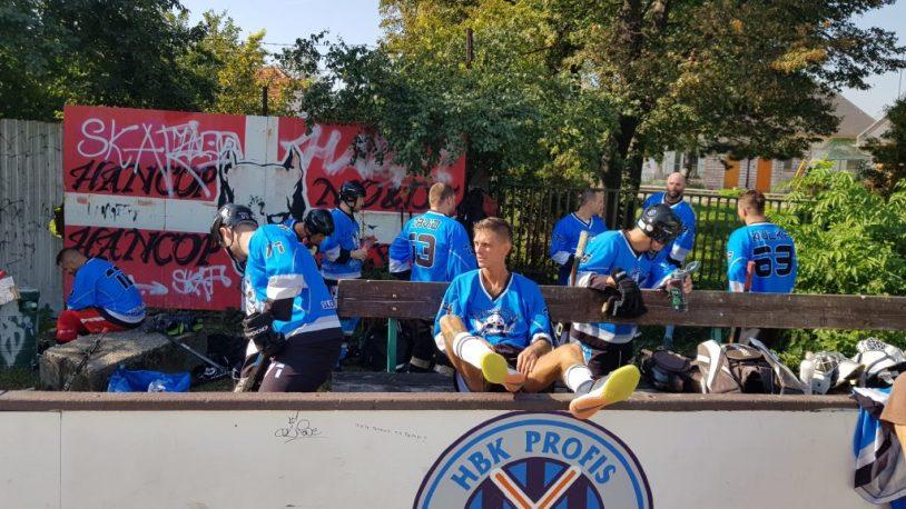 Hokejbal PROFIS vs Ziegelfeld