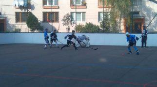 Hokejbalový zápas BHBL Ziegelfeld vs HBK 500 Nivy