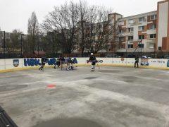 Hokejbalový zápas BHBL Ramiland Vrakuňa vs Profis Podunajské Biskupice