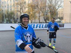 Hokejbalový zápas BHBL : Ziegelfeld vs Black Diamonds