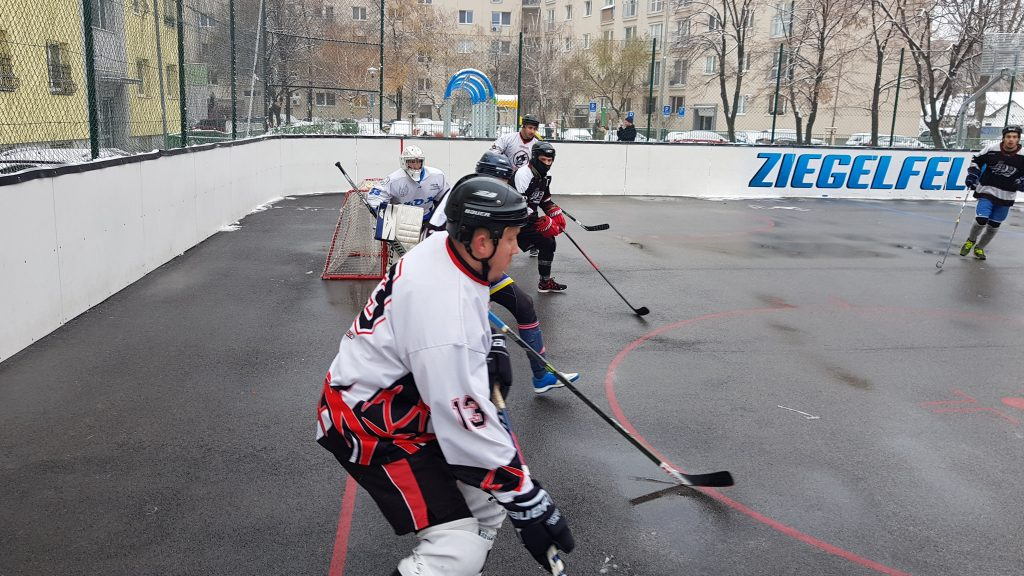Hokejbalový zápas BHBL : HBK 500 Nivy vs Empiria Petržalka