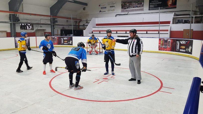Hokejbalový zápas BHBL : Slávia Právnik vs Ziegelfeld