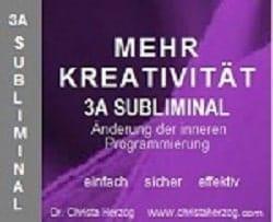 mehr kreativität 3a subliminal