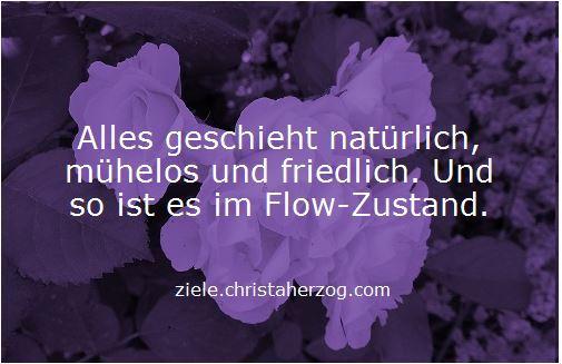 Im Flow sein ist natürlich und mühelos