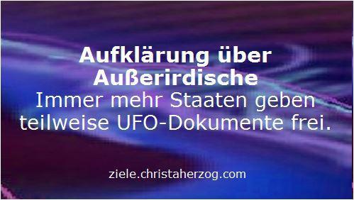 Aufklärung über Außerirdische
