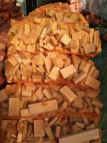 buk-dąb-3 Drewno opałowe w workach.
