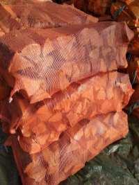sosna-2 Drewno opałowe w workach.