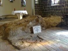 Wnętrze kościoła Prymatu.